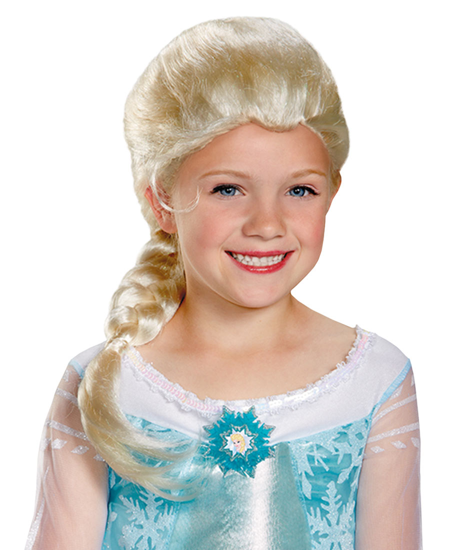 Frozen Elsa's child wig - Click Image to Close