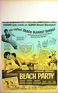BEACH PARTY Annette Funicello Frankie Avalon