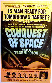 CONQUEST OF SPACE SciFi