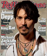 Johnny Depp - RS cover
