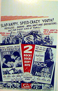 DRAGSTRIP GIRL / ROCK ALL NIGHT