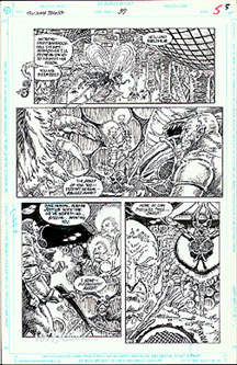 Swamp Thing DC Comic animators work page