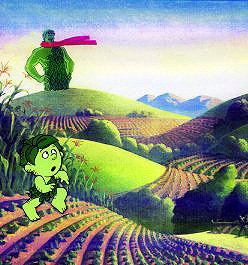 Green Giant Vegetable commerical (Murikami-Wolf) 1980's.