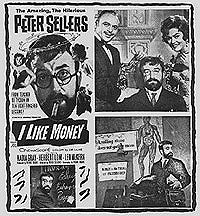 I LIKE MONEY Peter Sellers