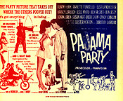 PAJAMA PARTY Anette Funicello, Buster Keaton