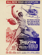 TARZAN AND THE VALLEY OF GOLD Mike Henry
