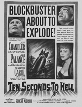TEN SECONDS TO HELL Jeff Chandler, Jack Palance