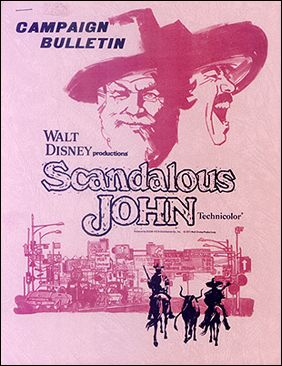 Disney Scandalous John 1971