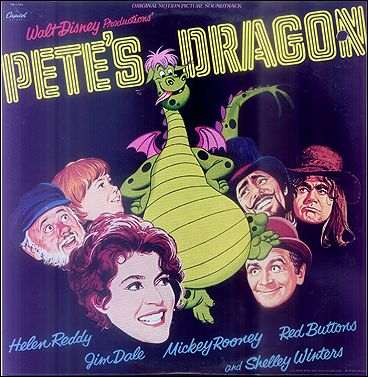 Petes Dragon Walt Disney Hellen Reddy Mickey Rooney