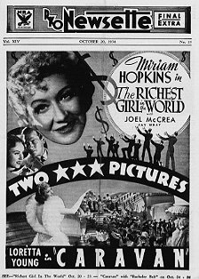 Richest Girl in the World Murian Hoplins Joel McCrea caravan Loretta Young